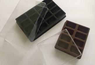 Création coffrets macarons par 8 et 16 en complément de notre gamme